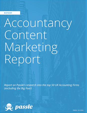 Accountancy Content Marketing Report from Passle